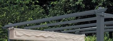 Trave ricambio x pergola mm.30x60x384cm. c/fune