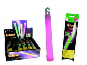 Bacchetta fluorescente cm.15 concerto party campeggio discoteca