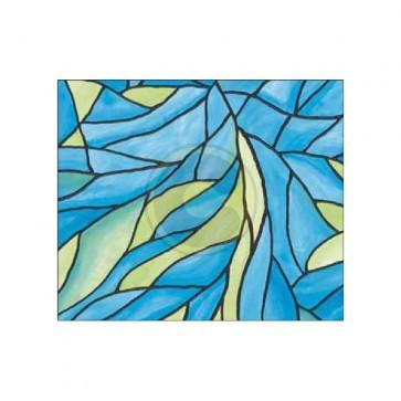 Rivestimento rotolo plastica adesiva mt.2,5 effetto vetrata