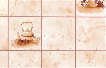 Rivestimento rotolo plastica adesiva cucina effetto mattonelle mt.2,5