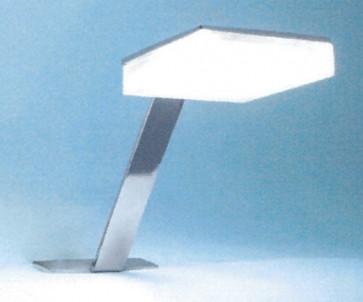 Applique da bagno a led attacco a cornice specchio cm 5,5x4,5