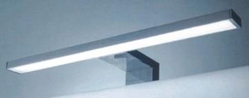 Applique da bagno a led cm 30x3 attacco a cornice