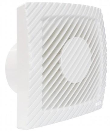 Aspiratore elettrico a muro potenza 15 w diametro 8 cm bianco