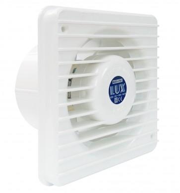 Aspiratore elettrico bianco a muro a parete uscita aria diametro 8 cm 15 w