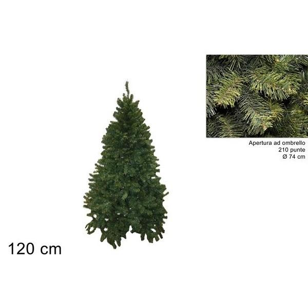 Albero Di Natale 120 Cm.Albero Di Natale 120 Cm Pino Texano Folto Verde Realistico Apertura Ad Ombrello