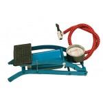 Pompa a pedale c/manometro