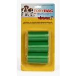 Sacchetti igienici per cane 60 bustine polietilene per bisogni escrementi feci