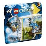 Lego chima salto nel nido 70105 gioco abilità bambino con minifigure