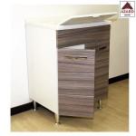 Mobile lavatoio per lavanderia in legno lavapanni mobiletto bagno 2 ante pilozzo