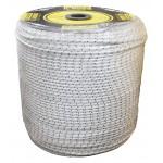 KG 21 - fune nylon intrecciato 'il nodo' mm. 8 peso 60gr/m