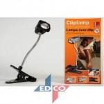 Lampada clip lettura anti zanzare repellente 28 cm campeggio con pinza