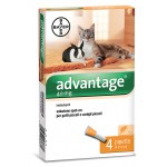 Advantage spot on antiparassitario 40 mg per gatti e conigli fino a 4 kg