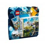 Lego chima tiro al bersaglio gioco abilità bambino con minifigura