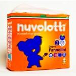 Confezione pannolini per bambini nuvolotti 21 pz seconda misura da 3/6 kg