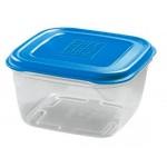 Contenitore ermetico in plastica per alimenti con coperchio Giostyle 1 lt 14x14x8