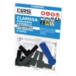 Kit accessori per zanzariera irs clarissa angoli + rotella x profilo alluminio