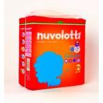 Confezione pannolini per bambini nuvolotti 18 pz quarta misura da 8/18 kg