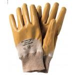 PA 12 - guanti nitrile giallo c/pol.tg. 8 rif.72160