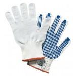 PA 12 - guanti maglia palmo puntinato tg. 8 rif.72020