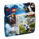 Lego chima torre di ghiaccio 70106 gioco abilità bambino con minifigura