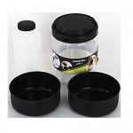 Contenitore cibo e acqua cane box pranzo per cani 4 in 1