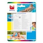 Kit 10 toppe riparazione piscina heavy-duty