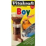 Dispenser manigime uccelli volatili in gabbia set 2 pezzi erogatore