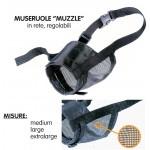 Museruola muzzle net medium