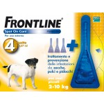 Frontline spot-on kg.02-10 cani piccoli (3+1)