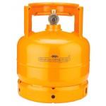 Bombola per gas liquido da kg.2 completa di rubinetto