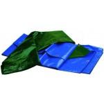 Teloni antistrappo pesanti bicolor blu/verde 3x3 m