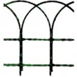 Rete ornamentale cavallino plastificata verde mt.10 h.cm. 60