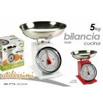 Idea cucina e regalo: bilancia dietetica pesa alimenti analogica max 5kg in meta