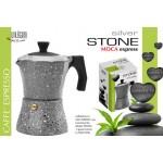 Moca caffe' express silver stone rivestimento pietra guarnizione in silicone
