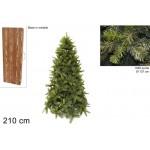 Albero di natale pino lucano cm210