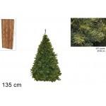 Albero di natale pino paris 135cm