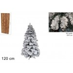 Albero di natale abete snow 120 cm
