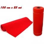 Rotolo passatoia tappeto natale colore rosso 100 cm x 25 mt red