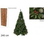 Albero di natale dalia 240 cm 1800 rami