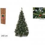 Albero natale pino del paradiso 240 cm 1410 rami