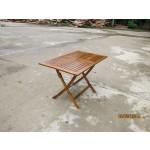 Tavolo da giardino cm 120x70x74h pieghevole in legno