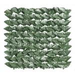 Siepe ombreggiante verde rete frangivista foglie arella h 150 x 20 cm