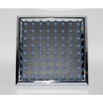 Soffione doccetta doccia cromata quadrata per il soffitto 15x15cm bagno