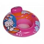 Poltrona bambino hello kitty mare piscina comfort con poggiatesta cm. 104x104