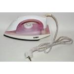 Ferro da stiro 1200w bianco/rosa piastra acciaio inox piccoli elettrodomestici