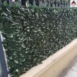 Siepe sintetica artificiale 1x3 doppia schermatura anticaduta sempreverde finta