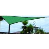 Rete vela parasole blinky emily verde triangolare mt. 3 x 3 x 3