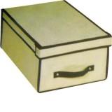 Scatola porta abiti cm.45x30x24 box scarpe lenzuola armadio casa