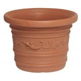 Vaso plastica festonato d. cm.60x44h prestige