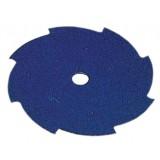 Disco per decespugliatore tosaerba 8 denti piatti in acciaio 230 mm